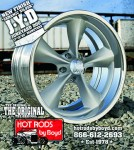 Hot Rods by Boyd- Cast Wheels
